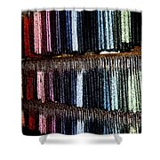 Hanging Candle Fresco Shower Curtain