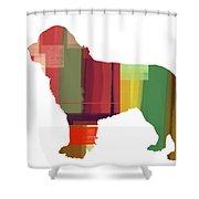 Newfoundland Shower Curtain by Naxart Studio