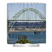Newport Bridge Shower Curtain