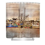 Newport Rhode Island Harbor II Shower Curtain
