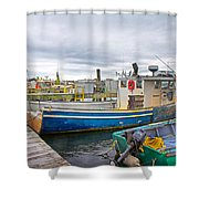 Newport Rhode Island Harbor IIi Shower Curtain