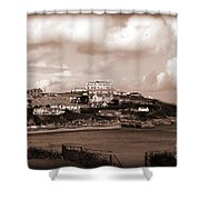 Newquay In Cornwall Shower Curtain