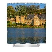 Newstead Abbey Gatehouse Shower Curtain