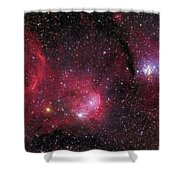 Ngc 3293, The Gem Cluster And Gabriela Shower Curtain