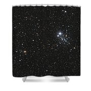 Ngc 457, The Owl Cluster Shower Curtain