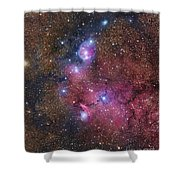 Ngc 6559 Emission And Reflection Shower Curtain