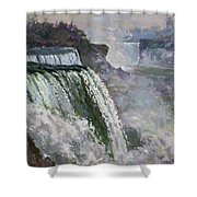 Niagara American Falls 2 Shower Curtain