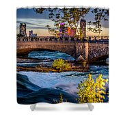Niagara Bridge Shower Curtain