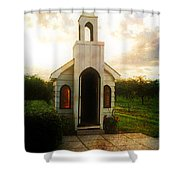 Niagara Church Shower Curtain