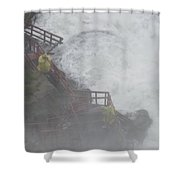 Niagara Falls - Cave Of The Winds Shower Curtain