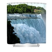 Niagara Falls American Side Shower Curtain