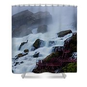 Niagara Falls At A Different Point Of View Shower Curtain