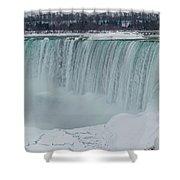 Niagara Falls Canada In Winter Shower Curtain
