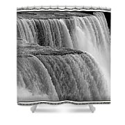 Niagara Falls Closeup Box Camera Effect Shower Curtain