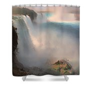 Niagara Falls From The American Side Shower Curtain