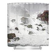 Niagara Falls Overlook Two Shower Curtain