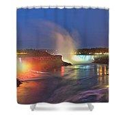 Niagara Falls Ultra Wide Panorama Shower Curtain