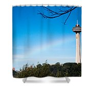 Niagara Landmarks Shower Curtain