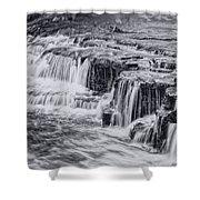 Niagara River Falls Shower Curtain