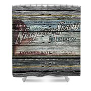 Niagara Spray Beer Shower Curtain