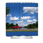Nice Day For A Drive Shower Curtain