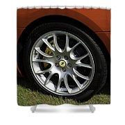 Nice Wheel Shower Curtain