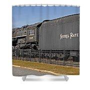 Nickel Plate Road Shower Curtain