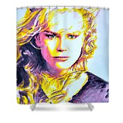 Nicole Kidman Shower Curtain