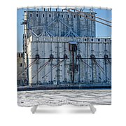 Nidera Storage 2 Shower Curtain