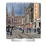 Nieuwe Kerk In Amsterdam Shower Curtain
