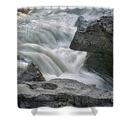 Nigel Creek Cascades Shower Curtain