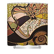 Night And Day.. Shower Curtain
