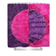 Night And Day Original Painting Shower Curtain