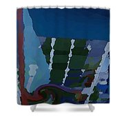 Night At Granville Island Shower Curtain