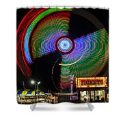 Night At The Fair Shower Curtain