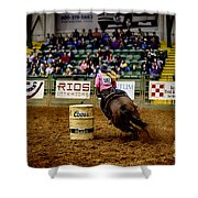 Night At The Rodeo V23 Shower Curtain