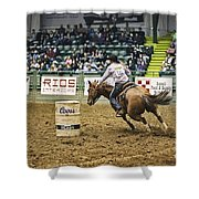 Night At The Rodeo V25 Shower Curtain