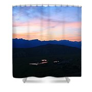 Night At The Tetons Shower Curtain