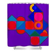 Night Color Shower Curtain