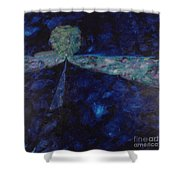 Night Drive 1 Shower Curtain