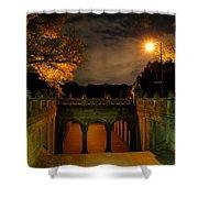 Night-fall Shower Curtain