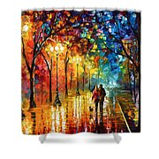 Night Fantasy Shower Curtain