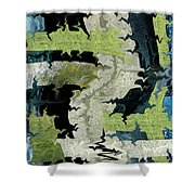 Night Forest Shower Curtain