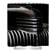 Night Grille Shower Curtain by Ken Smith