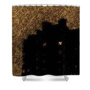 Night Kitchen Shower Curtain