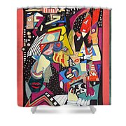 Night Life Shower Curtain