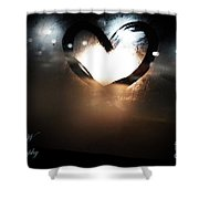 Night Life Love Shower Curtain