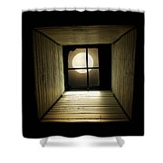 Night Light Shower Curtain by Amy Tyler