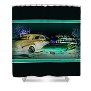 Night Lights With The Classics Shower Curtain