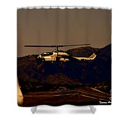 Night Mission Shower Curtain